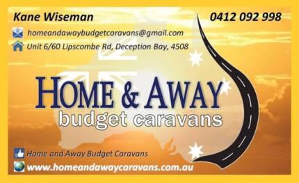 HOME AND AWAY BUDGET CARAVANS
