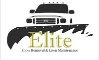ELITE SNOW REMOVAL . RESERVE YOUR SPOT BEFORE ITS TO LATE!!