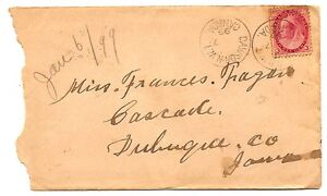 Dawson-NWT-Jan-7-1899-CDS-three-cent-Numeral-issue-via-Skagway-Alaska-Yukon