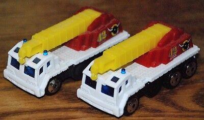 Matchbox Lot of 2 Rescue Crane, 1/64