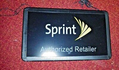 Sprint Hanging Sign Light Box