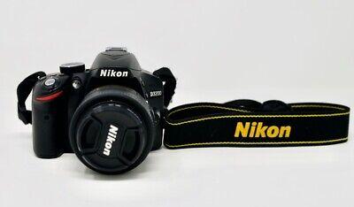 Nikon D3200 Kit AF-S 18-55 9.400 scatti in ottime condizioni segunda mano  Embacar hacia Mexico
