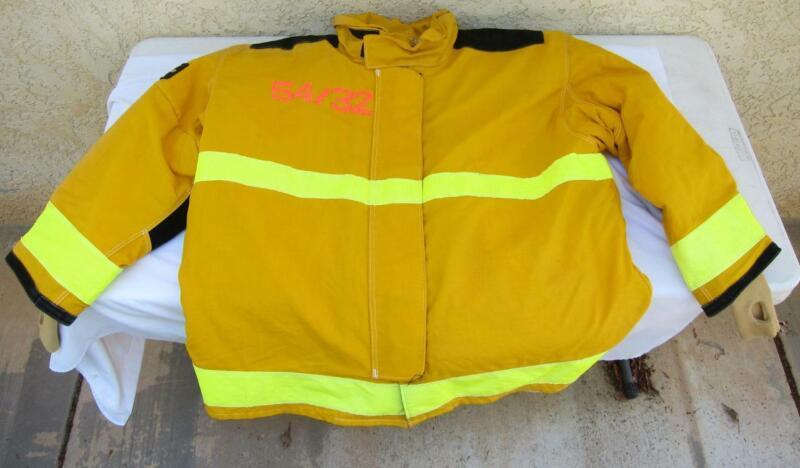 Lion Janesville Firefighter Fireman Turnout Gear Jacket Size 54.32.R - [D] (F2)