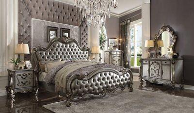- Acme Furniture Versailles ll Queen 6 Piece Bed Set 26840