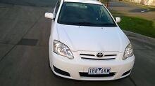 2004 Toyota Corolla hatch rego Rwc Craigieburn Hume Area Preview