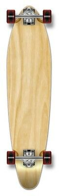 Yocaher Kicktail Blank Longboard Complete - Natural