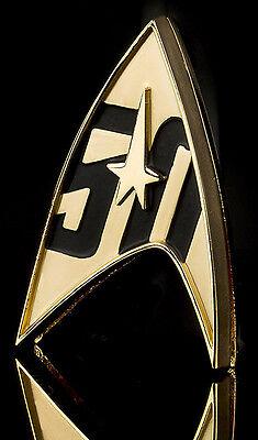 50 Jahre Star Trek offizielles Abzeichen Metall - Magnet Star Trek Abzeichen