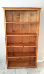 Bookcase - reclaimed wood, excellent condition