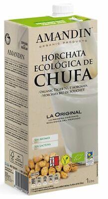 Amandin Organic Tiger Nut Horchata 1Ltr