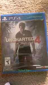 UNCHARTED 4 - PS4 Sealed
