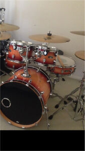 PDP LX maple drum kit +zildjian cymbals Runcorn Brisbane South West Preview
