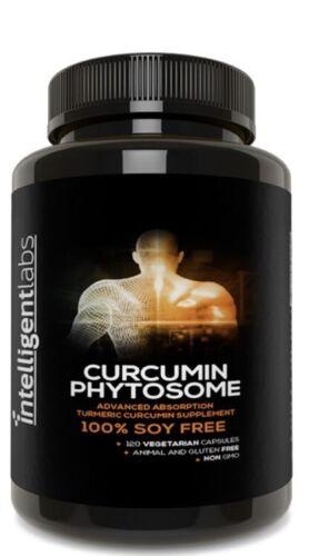 Intelligent Labs curcumin Phytosome capsules, New!