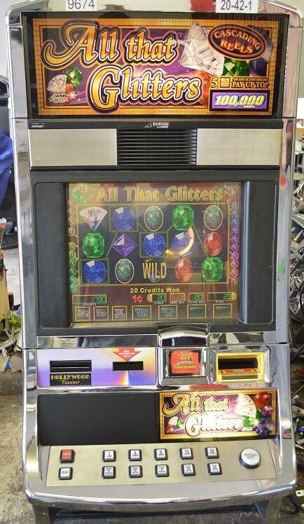 "Slot Machine Williams Bluebird ""All that Glitters"""