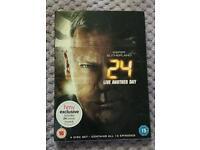 24 Full Box Set Seasons 3 and 4 and 24 Film.
