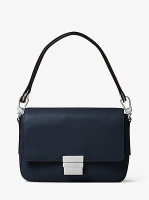 Michael Kors Madelyn Large Admiral Leather Shoulder Bag BNWT