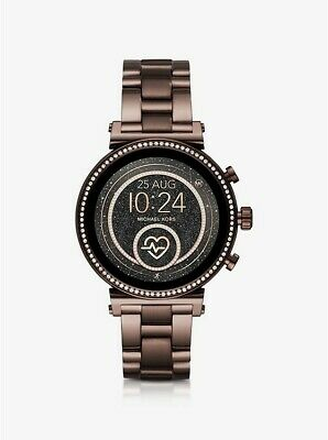Michael Kors Access Sofie 41mm Steel Sable-Tone Touchscreen Smartwatch MKT5075