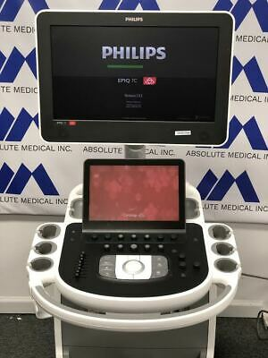 Philips Epic 7c Premier Ultrasound System Machine With S5-1 Cardiac Transducer