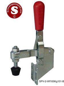 Senkrechtspanner / Schnellspanner vertikal - Haltekraft: 100 kg
