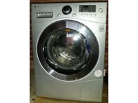 LG-F1480YD5 Washer Dryer Silver