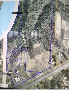 Building lot with frontage of Kam River on 15th Side Road!