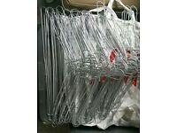Joblot strong steel wire hangers
