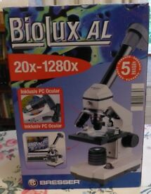 Bresser - BioLux AL Microscope 20x-1280x