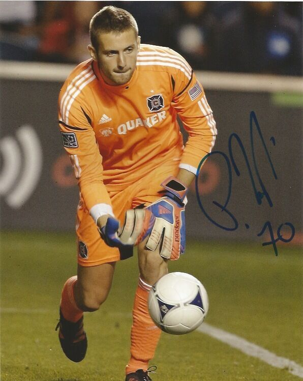 Chicago Fire Paolo Tornaghi Autographed Signed 8x10 Photo COA