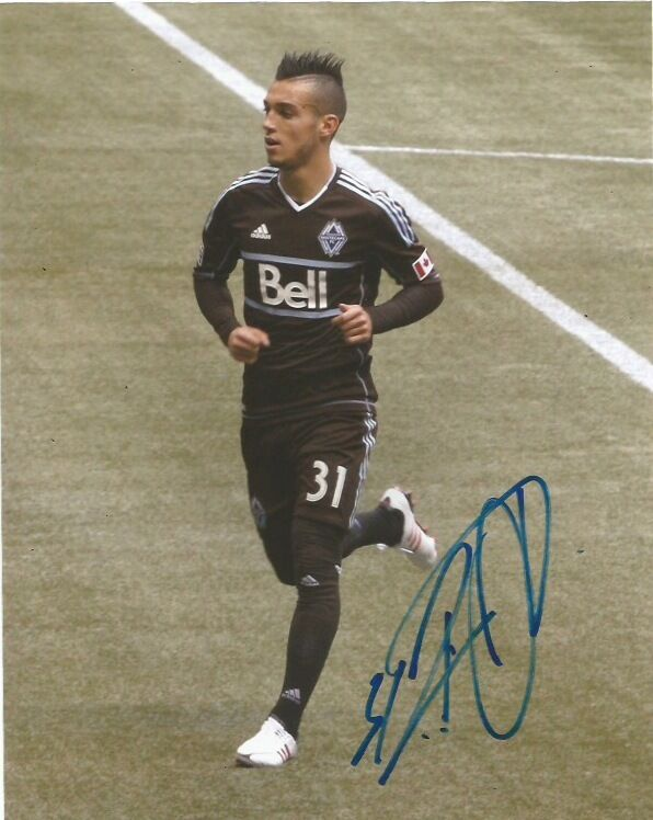 Vancouver Whitecaps Russell Tiebert Autographed Signed 8x10 Photo COA B