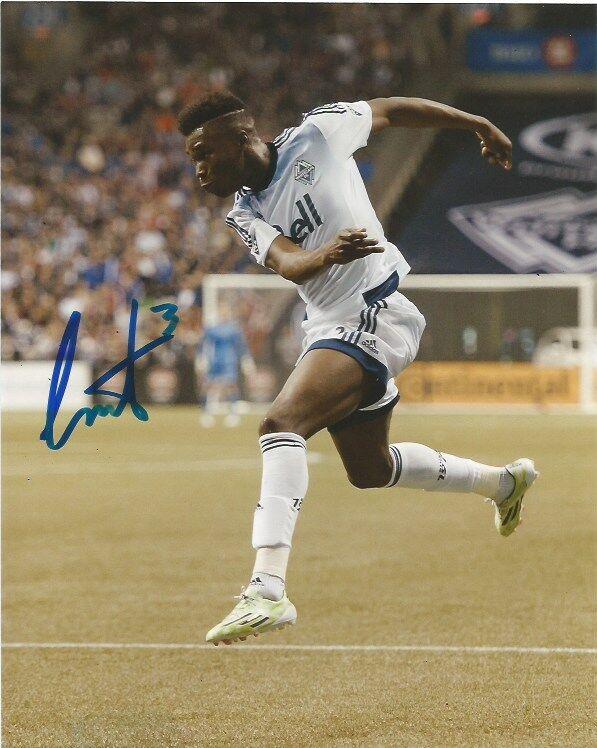 Vancouver Whitecaps Sam Adekugbe Autographed Signed 8x10 Photo COA C