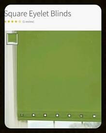ROLLER BLIND SAGE GREEN 48INCH WIDE ROUND EYELET BRAND NEW