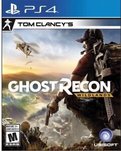 PS4 games ghost recon wild lands and gta5