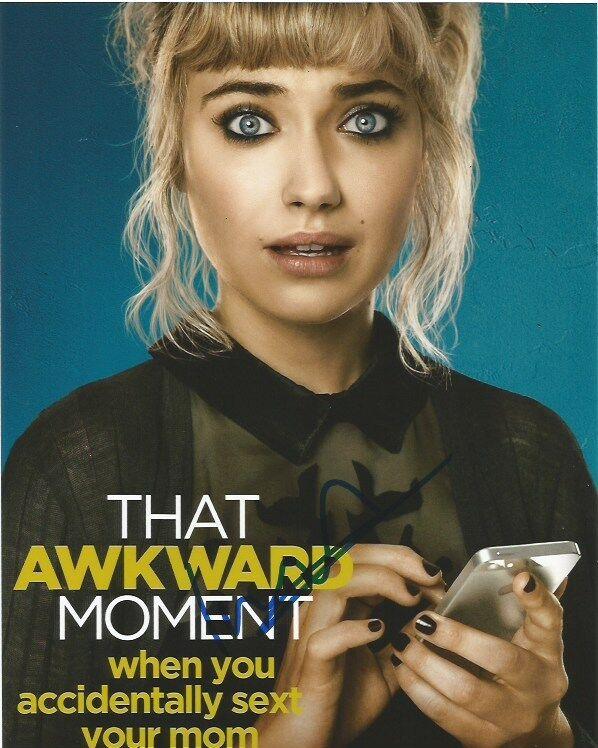 Imogen Poots Awkward Moment Autographed Signed 8x10 Photo COA