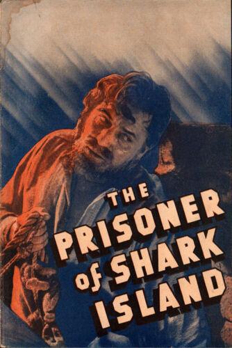 Prisoner of Shark Island Original  Movie Herald from the 1936 Movie