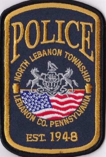 North Lebanon TWP Police Patch Pennsylvania PA