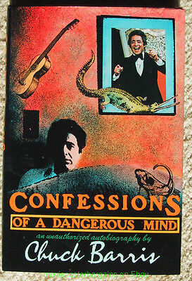 CONFESSIONS OF A DANGEROUS MIND 1st Edition Book Mint CHUCK BARRIS THE GONG SHOW