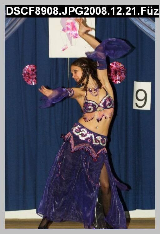 Bellydance private lesson and performance