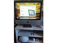 Apple iMAC (20 inch) fully restored to factory settings with JBL speakers. Computer & DVD player.