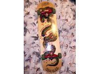 Dan Pensyl Fiveboro custom skateboard