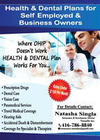 Health & Dental Plan.....Promotional Offer Till Dec 6th 2018