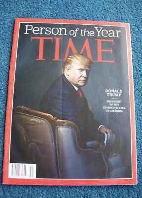 TIME Magazine *Person Of The Year* Donald Trump Double Issue, Dec 2016, VGC