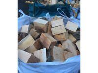 Part Air dried logs