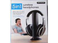 Optimum 5 in 1 Wireless Headphones