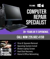 COMPUTER REPAIR SERVICE -AFFORDABLE - We can fix it!