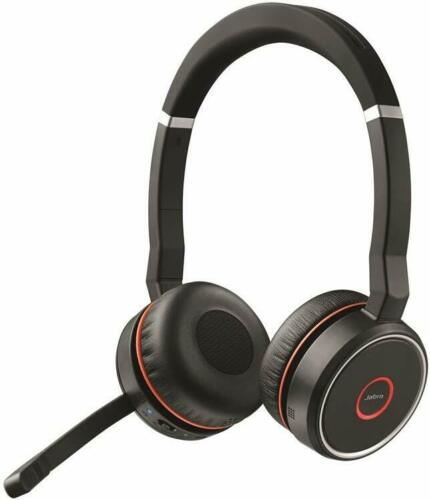 Jabra Evolve 75  active noise canceling with Link 370 + Durable Carrying Case