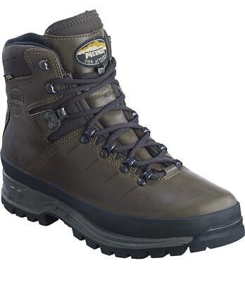 Meindl Bhutan MFS GTX Waterproof Walking Boots - Dark Brown-UK 11.5