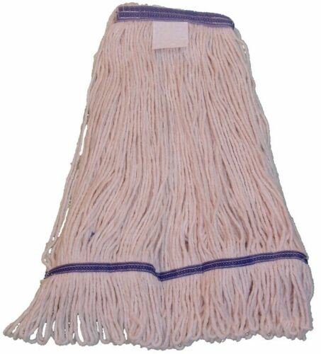 JaniMop Looped End Wet Mop, Narrow Band, Large, 1 Each