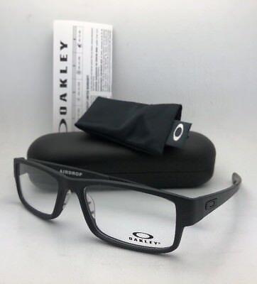 61f838136e New OAKLEY Eyeglasses AIRDROP OX8046-0157 XL Large 57-18 143 Satin Black  Frames
