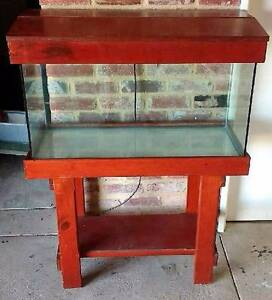 AQUARIUM ON STAND WITH A LID Fremantle Fremantle Area Preview