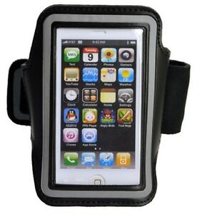 Deluxe Arm Band for iPhone 5, 5S, 5C - Slot for Keys - Perfect f