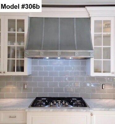 Custom Zinc Range Hood Incl. Motor, La Cornue Or La Canche Hood - Model #306b for sale  Libertyville